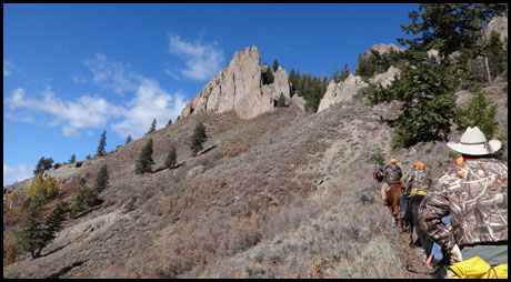 Horseback Riding in the Gunnison Country